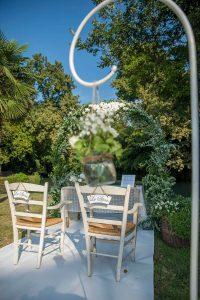 Location per matrimonio al ristorante Villa Wollemborg a Loreggia