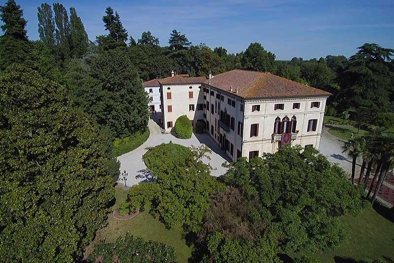 villa-wollemborg-Giardino-foto Eventi aziendali Padova