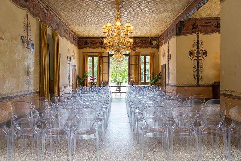 villa-wollemborg-Salone-Centrale-foto Eventi aziendali Padova