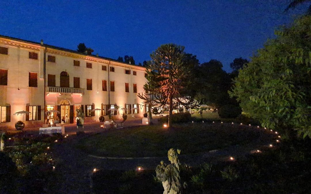 10 agosto 2021: luce di stelle a Villa Wollemborg